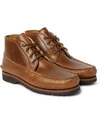Quoddy - Telos Cavalier Leather Chukka Boots - Lyst
