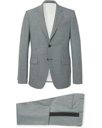 Givenchy - Blue Slim-fit Puppytooth Wool Suit - Lyst