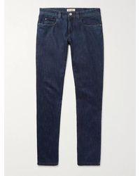 Loro Piana Slim-fit Stretch-denim Jeans - Blue