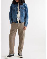Kapital Slim-fit Denim Trucker Jacket - Blue