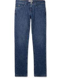 Loro Piana Slim-fit Denim Jeans - Blue