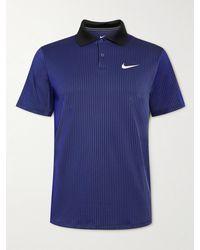 Nike Slam Dri-fit Adv Tennis Polo Shirt - Purple