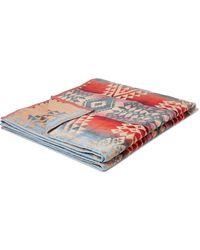 Pendleton Cotton-terry Jacquard Towel - Red