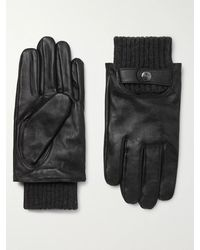 Dents Buxton Touchscreen Leather Gloves - Black