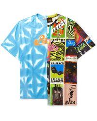 Loewe Paula's Ibiza Oversized Printed Cotton-jersey T-shirt - Blue