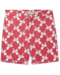 RRL Printed Cotton-blend Shorts - Red
