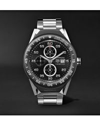 Tag Heuer | Connected Modular 45mm Titanium And Ceramic Smartwatch | Lyst