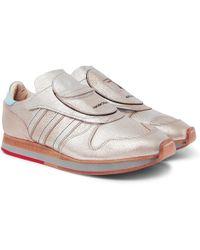 Adidas Originals | + Hender Scheme Micropacer Metallic Textured-leather Sneakers | Lyst