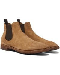 Officine Creative - Princeton Suede Chelsea Boots - Lyst