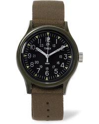 Timex - Camper Mk1 Resin And Grosgrain Watch - Lyst