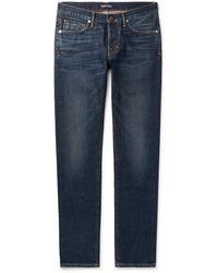 Tom Ford Slim-fit Denim Jeans - Blue
