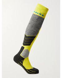 Falke Sk2 Stretch-knit Socks - Yellow