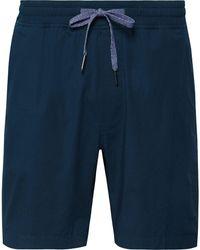 lululemon athletica Bowline Stretch-cotton Jersey Drawstring Shorts - Blue