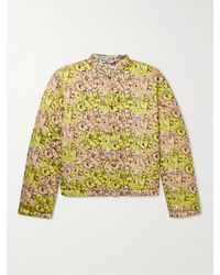Comme des Garçons - Kaws Reversible Printed Cotton-poplin Bomber Jacket - Lyst