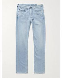 Rag & Bone Fit 2 Slim-fit Stretch-denim Jeans - Blue