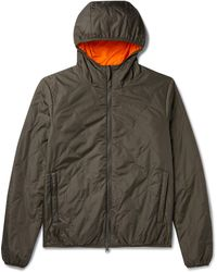 Aspesi Quilted Shell Jacket - Green
