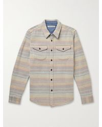 Outerknown Blanket Checked Organic Cotton-twill Shirt - Multicolour