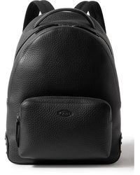 Tod's Full-grain Leather Backpack - Black