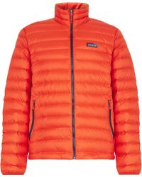 Patagonia - Quilted Dwr-coated Ripstop Shell Down Jacket - Lyst