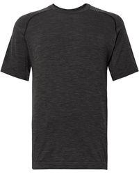 lululemon athletica Metal Vent Tech Stretch-jersey T-shirt - Black