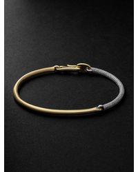 MAOR The Equinox 18-karat Gold Diamond Bracelet - Metallic