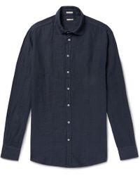 Massimo Alba - Linen Shirt - Lyst