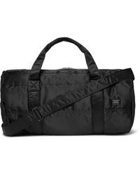 Porter Tanker 2way Boston Nylon Duffle Bag - Black