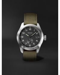 Bremont - Broadsword Automatic 40mm Stainless Steel And Sailcloth Watch, Ref. Broadsword-r-s - Lyst