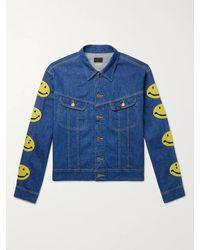 Kapital Embroidered Denim Jacket - Blue