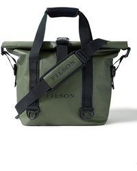 Filson Logo-print Tpu-coated Nylon Dry Tote Bag - Green