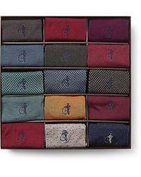 London Sock Company 15-pack Cotton-blend Socks - Multicolor
