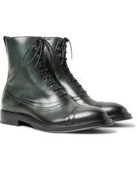 Berluti - Eris Bergen Leather Boots - Lyst