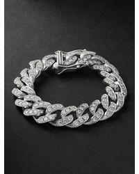 SHAY White Gold Diamond Bracelet - Metallic