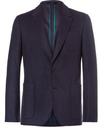 Paul Smith - Wool And Cashmere-blend Blazer - Lyst