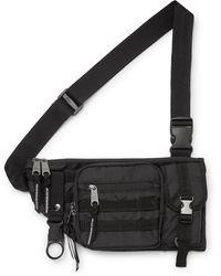 Indispensable Armour Nylon Belt Bag - Black
