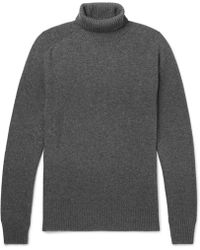 Tomas Maier - Slim-fit Cashmere Rollneck Sweater - Lyst