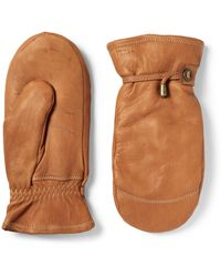 Hestra - Shearling Mittens - Lyst