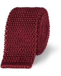 Charvet - 5cm Knitted Silk Tie - Lyst