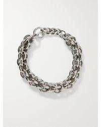 1017 ALYX 9SM Silver-tone Chain Necklace - Metallic