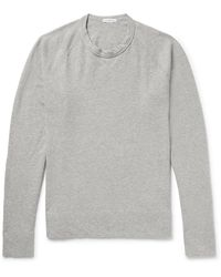James Perse - Loopback Supima Cotton-jersey Sweatshirt - Lyst