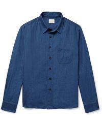 Simon Miller - Slub Linen Shirt - Lyst