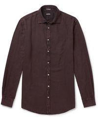 Massimo Alba Genova Flannel Shirt - Multicolour