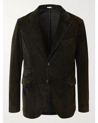 Massimo Alba - Cotton-corduroy Suit Jacket - Lyst