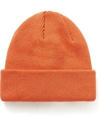 Flagstuff Cotton-blend Beanie - Orange