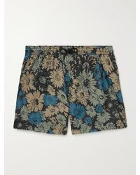 Paul Smith Floral-print Recycled Mid-length Swim Shorts - Multicolour