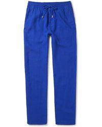 Vilebrequin - Pacha Linen Drawstring Trousers - Lyst
