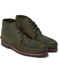 Quoddy - Washed-leather Chukka Boots - Lyst