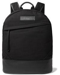 Want Les Essentiels De La Vie Canvas Kastrup Backpack - Black
