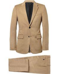 Balenciaga - Slim-fit Camel Suit - Lyst