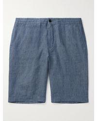 Ermenegildo Zegna Linen Shorts - Blue